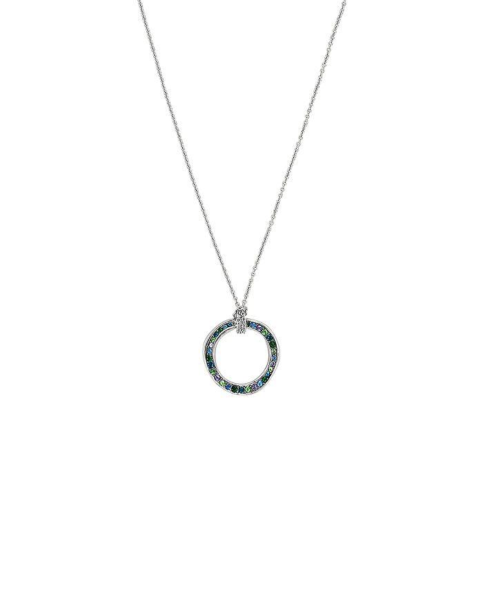 ADORE - Multicolor Crystal Circle Pendant Necklace 6eda9bfa3