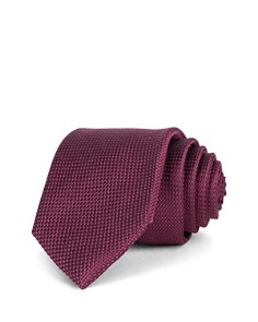 Ted Baker Textured Solid Basic Silk Classic Tie - Bloomingdale's_0