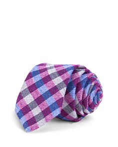 Ted Baker Multicolored Gingham Skinny Tie - Bloomingdale's_0