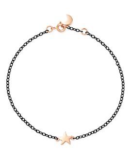 Dodo - Sterling Silver Star & Moon Charm Bracelet