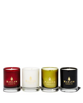 Harlem Candle Company - Harlem's Finest Mini Luxury Candles, Set of 4