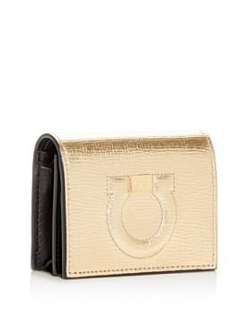 Salvatore Ferragamo - City Leather Bi-Fold Card Case