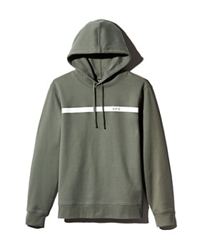 A.P.C. - Logo-Print Hooded Sweatshirt