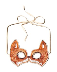 Coral & Tusk - Fox Embroidered Mask