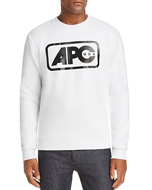 A.p.c. Vince Logo Graphic Sweatshirt