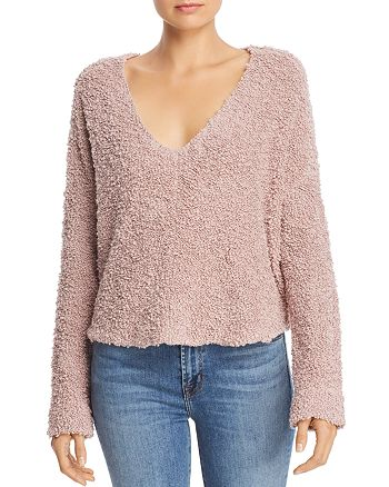 Free People - Popcorn Knit Sweater