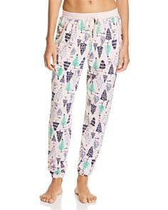 Jane & Bleecker New York - Printed Jogger Pants