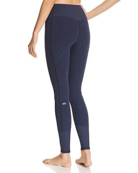 Alo Yoga - High-Rise Heathered Leggings