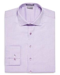 Vardama - Danbury Grid Regular Fit Dress Shirt