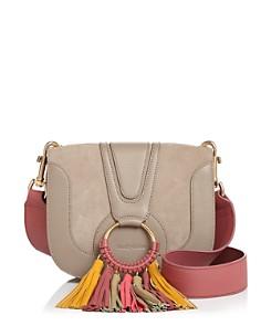 See by Chloé - Hana Medium Multicolored Tassel Leather Crossbody