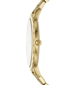 kate spade new york - Slim Metro Yellow Gold-Tone Watch, 38mm