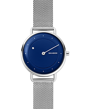 Skagen HORISONT BLUE-DIAL WATCH WITH DIAMOND, 36MM