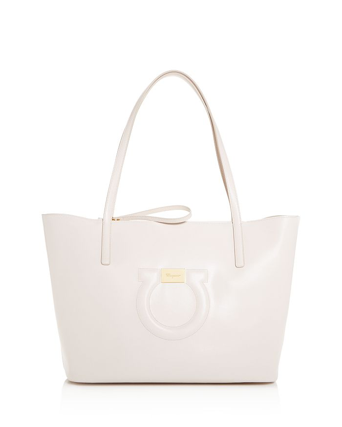 b991fb19fd1bc Salvatore Ferragamo Large Gancio City Tote Bloomingdale S. Promotional  Banner. Salvatore Ferragamo Handbags Saks. Blue Ferragamo Gancini Shoulder  Bag Womens