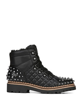 Sam Edelman - Women's Bren Quilted Studded Hiking Boots