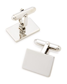 David Donahue - Engraved Sterling Silver Cufflinks