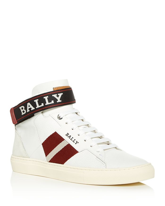 Bally - Men's Helvio Leather High-Top Sneakers