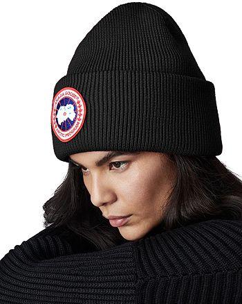 Canada Goose - Arctic Disc Merino Wool Toque Hat 29c3df062da7