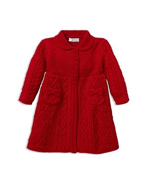 Ralph Lauren Girls AranKnit Wool Sweater Coat  Baby