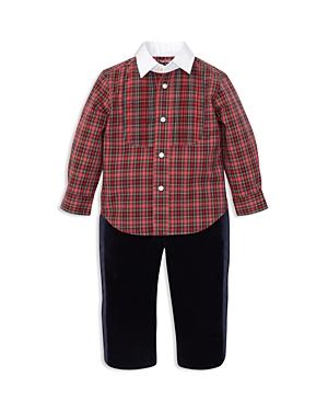 Ralph Lauren Boys Poplin Shirt  Tuxedo Pant Set  Baby