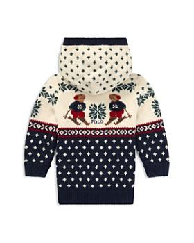 Ralph Lauren - Boys' Ski Bear Cotton-Wool Cardigan - Baby