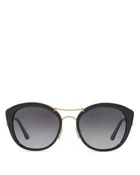 46c1e820e7 Burberry - Women s Polarized Check Round Sunglasses