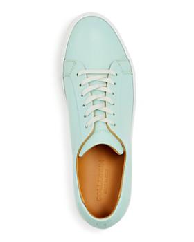 Collegium - Men's Pillar Leather Low-Top Sneakers