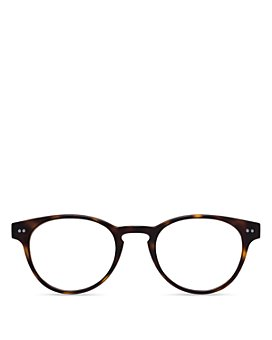 Look Optic - Unisex Abbey Round Blue Light Glasses, 47mm