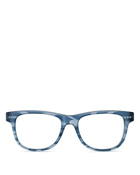 Look Optic - Unisex Sullivan Rectangular Blue Light Glasses, 52mm