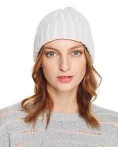 Rebecca Minkoff - Sparkle Rib-Knit Beanie
