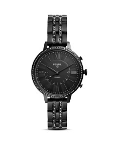 Fossil - Jacqueline All Black Hybrid Smartwatch, 36mm