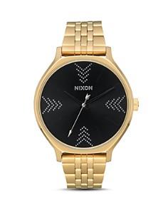 Nixon - Clique Gold-Tone Watch, 38mm