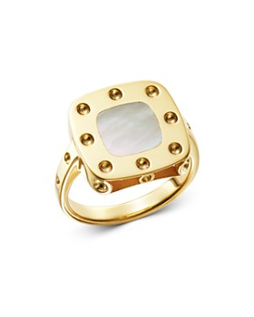 Roberto Coin - 18K Yellow Gold Pois Moi Mother-of-Pearl Ring
