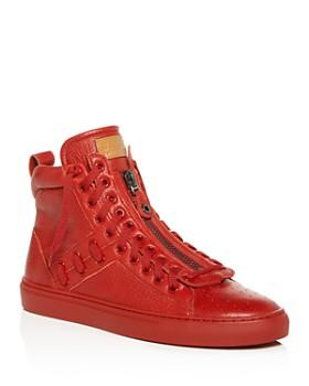 c59b0940708 Bally - Men s Hekem Leather High-Top Sneakers ...
