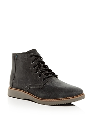 Toms Men's Porter Water-Resistant Nubuck Leather Boots
