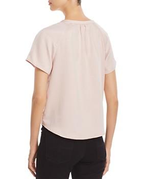 Finn & Grace - Short-Sleeve V-Neck Shirt - 100% Exclusive