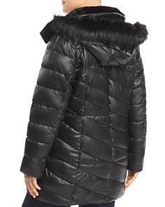 Marc New York Plus - Shirley Faux Fur Trim Parka