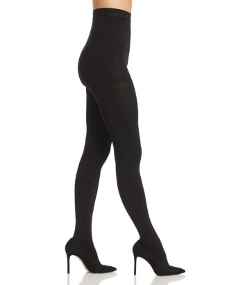 Cozy Opaque Control Top Tights by Dkny