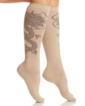 Natori - Dragon Knee High Socks
