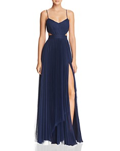 Fame And Partners Dakota Cutout Gown  Exclusive