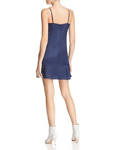Lucy Paris - Flounce-Hem Slip Dress - 100% Exclusive