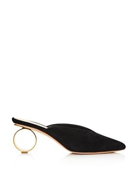 Loeffler Randall - Women's Juno Pointed Toe Round Heel Mules