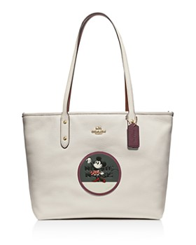 COACH - Disney x Coach Minnie Mouse City Patch Zip Tote