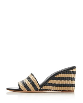 eaac3f7d382a2 ... kate spade new york - kate spade new york Women s Linda Striped Wedge  Sandals