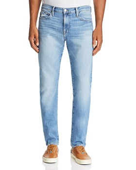 FRAME - L'Homme Slim Fit Jeans in Blue Bay