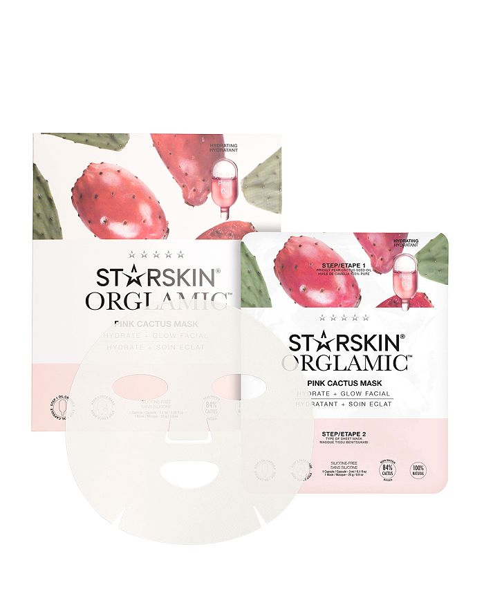 STARSKIN - Pink Cactus Face Mask