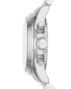 Michael Kors - Bradshaw Silver-Tone Chronograph, 43mm