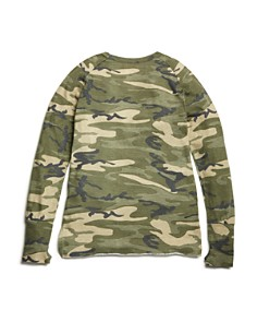 So Nikki... - Girls' Camo-Print Squad Tee - Big Kid