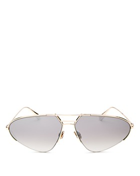 Dior - Women's Stellaries Mirrored Brow Bar Square Sunglasses, 62mm