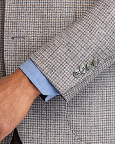 L.B.M - Small-Check Slim Fit Sport Coat