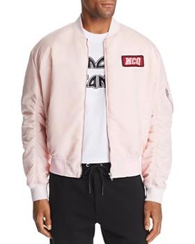 McQ Alexander McQueen - Logo-Patch Bomber Jacket